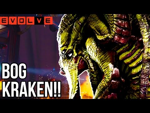 BOG KRAKEN!! Evolve Gameplay Walkthrough - Multiplayer DOMINATION - Part 22!! (XB1 1080p HD)
