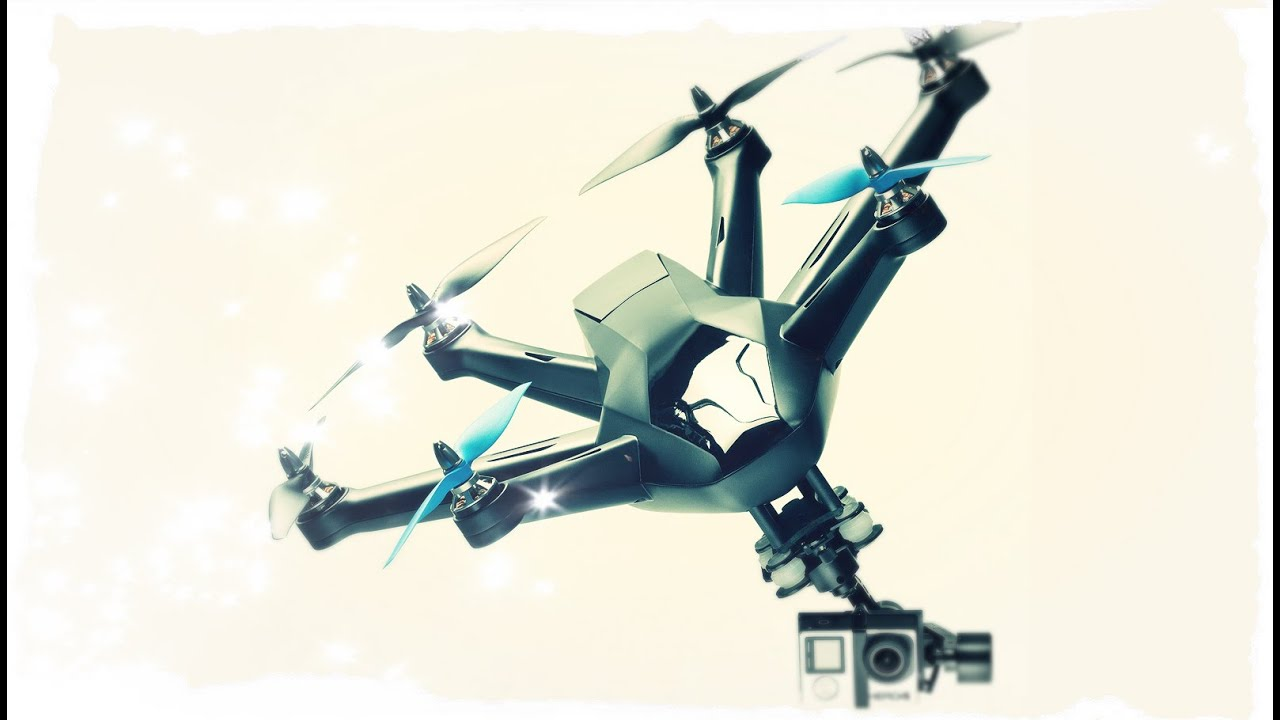 HEXO The Coolest Drone For GoPro Hero Invading Sky