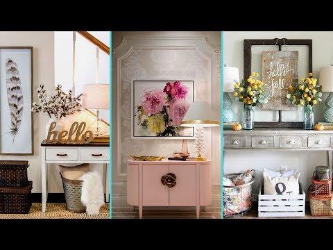 ❤ DIY Entryway/ Foyer decor ideas 2017 ❤| Home decor & Interior design | Flamingo mango|