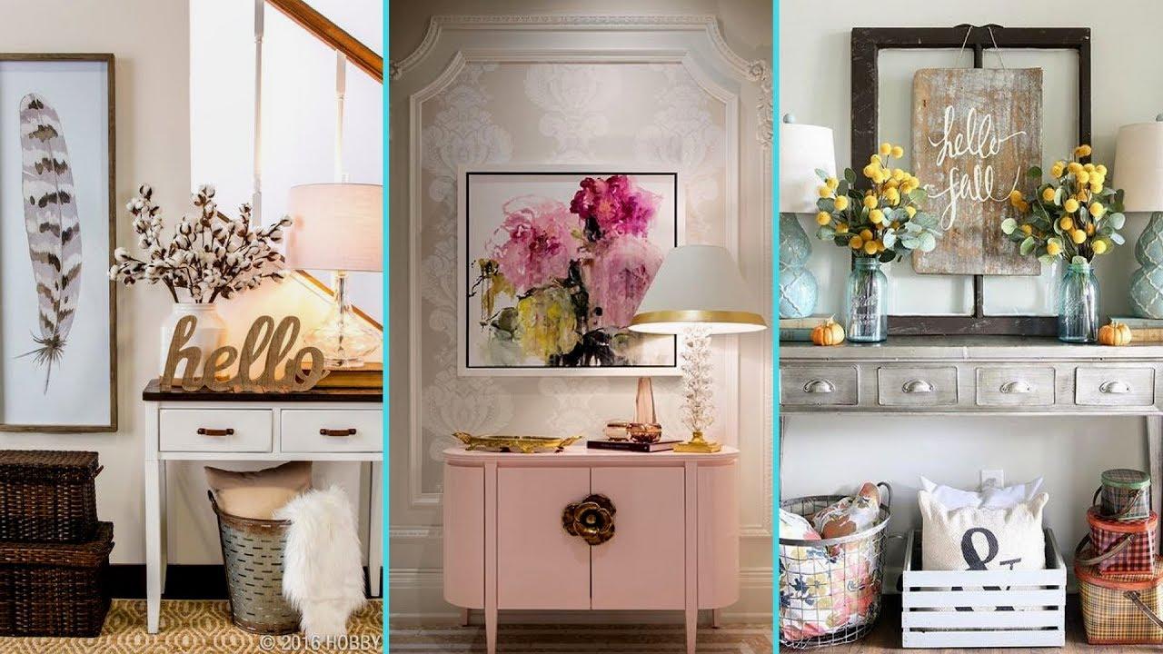 DIY Entryway/ Foyer decor ideas 2017 | Home decor ...