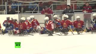 Россияне впервые выступят на соревнованиях по следж-хоккею на Паралимпиаде-2014