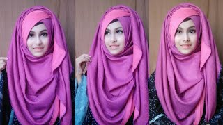 My Signature Hijab Style || Remake of my Everyday simple hijab tutorial || Noshin Nower