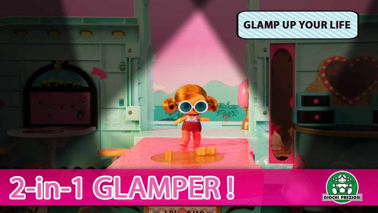 L.O.L Surprise / 2-in-1 Glamper / Stop Motion / Giochi France