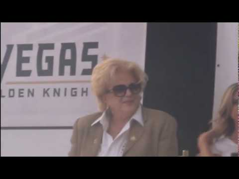 VEGAS Golden Knights and the D Las Vegas joint announcement June 2017