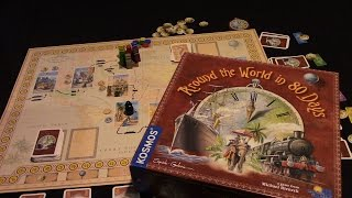 Jeremy Reviews It... - Around the World in 80 Days Board Game Review