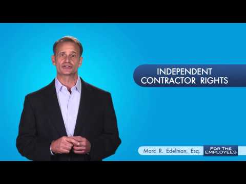 Your Independent Contractor Rights