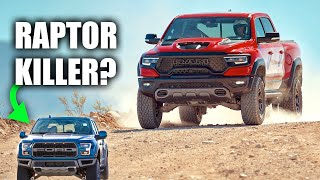 The Ram 1500 TRX May Not Dominate The Ford Raptor For Very Long