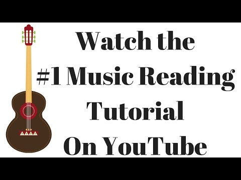 How to Read Music For Guitar - 100 On Screen Exercises and Tutorials