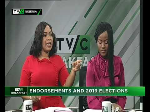 TVC Breakfast 16th Feb. 2018 | Endorsement and 2019 Elections