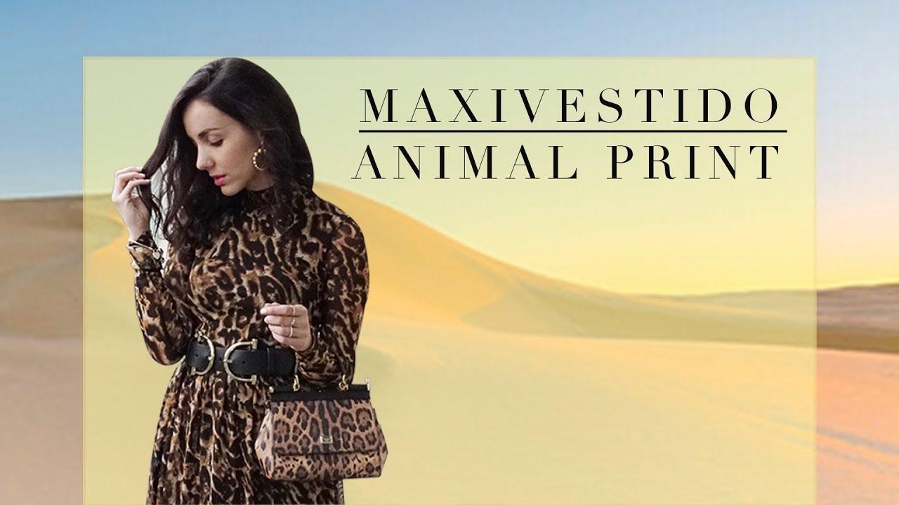 e1e43e571 Cómo combinar un vestido animal print  -  LKBK - ¡Amo mi vestido ...