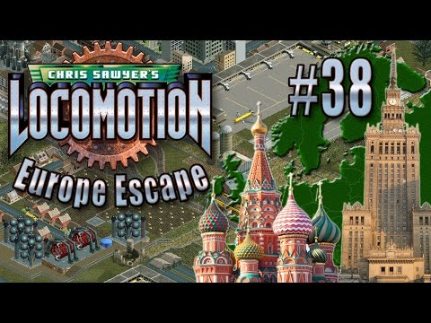Chris Sawyer's Locomotion: Europe Escape - Ep. 38: MOSCOW TO WARSAW