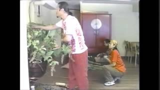 20年前のテレビ放映された花の活け込み.