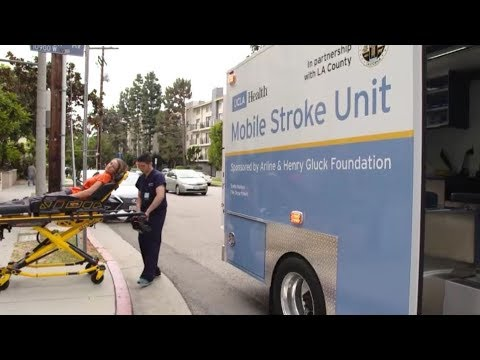 Mobile Stroke Unit - Philanthropy Changing s  UCLA Health