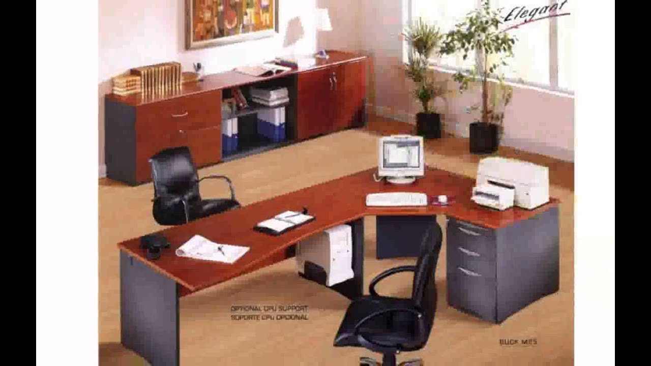 Oficinas Pequenas Modernas En Casa Of Como Decorar Una Oficina Youtube