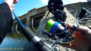 Курахово, первая рыбалка сезона 2018