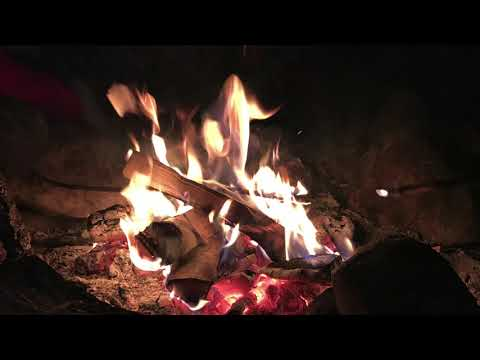 Guided Meditation: Sleeping by a Fall Campfire