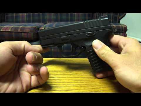 Springfield Armory XDs (takedown)