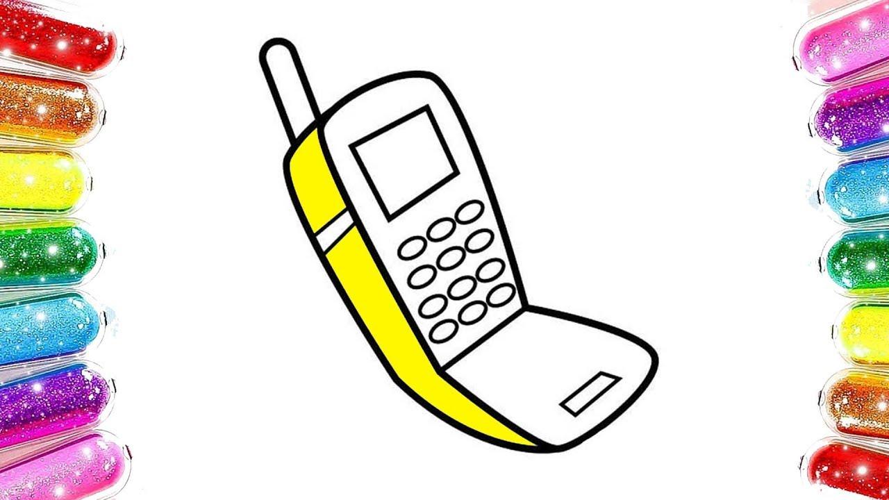 Learn Colors Phone Telefon Boyama Renkleri öğreniyorum Youtube