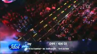 Jay Smith - Like A Prayer (Vinnare av Idol 2010 Final) Sweden