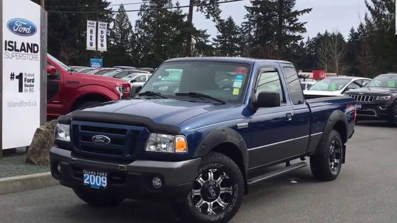 2009 ford ranger fx4 one owner leather cab steps review island ford