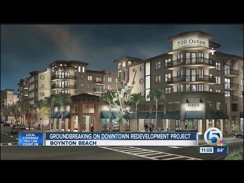 Downtown Boynton Beach is getting a facelift