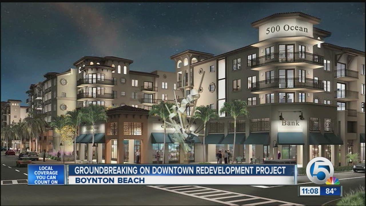 Downtown Boynton Beach Is Getting A
