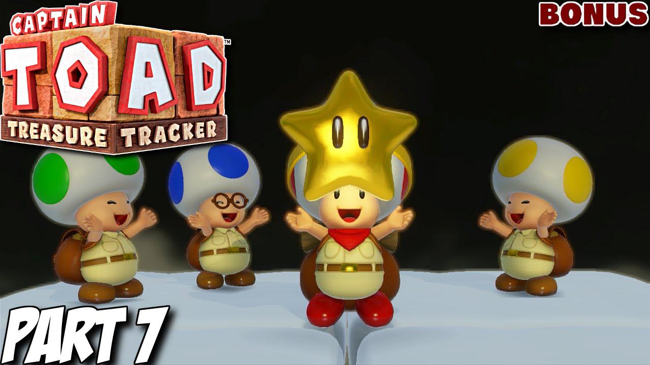 Captain toad treasure tracker 100 gameplay walkthrough part 7