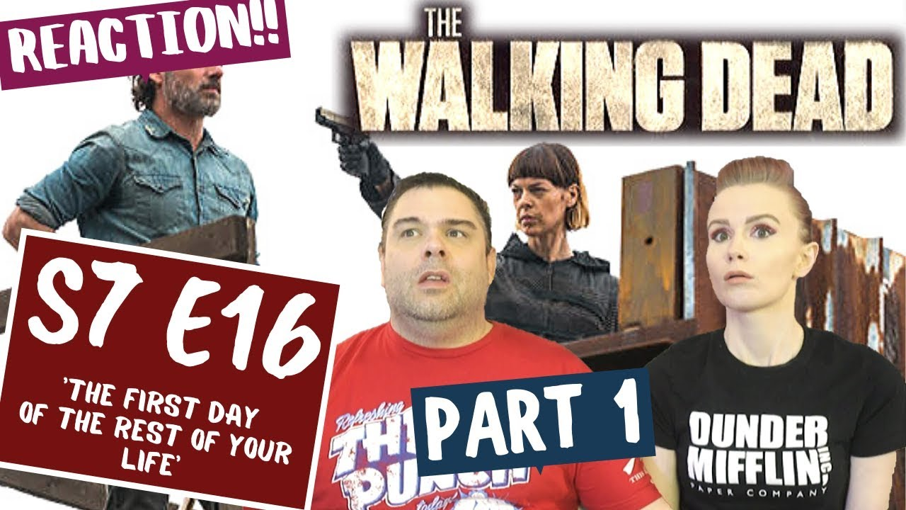 Download The Walking Dead   S7 E16 'The First Day of the Rest of Your Life' -  Part 1   Reaction   Review