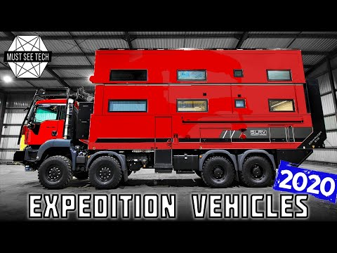 10 All-New Expedition Vehicles And Overlanding Trucks For Extreme Explorations In 2020