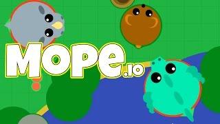 Mope.io - The Mighty Bear! - Mope.io Gameplay - Brand New Mope io Game Update