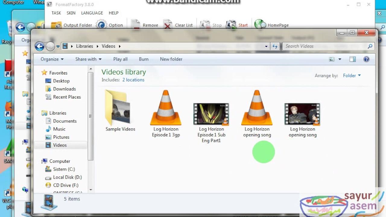Cara Merubah Mp4 Menjadi Mp3 Format Factory Youtube