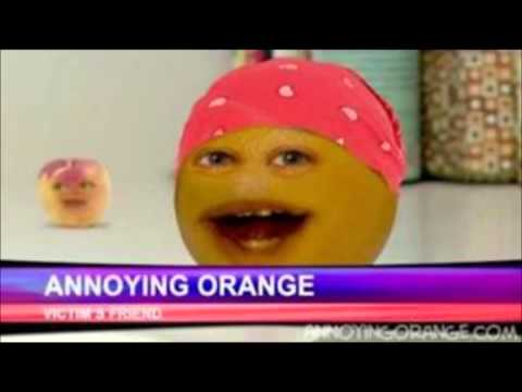 Annoying Orange - Kitchen Intruder Karaoke with backup vocals