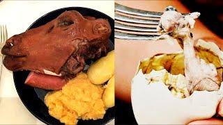 10 самых НЕОБЫЧНЫХ блюд, которые ТЫ НЕ станешь ЕСТЬ