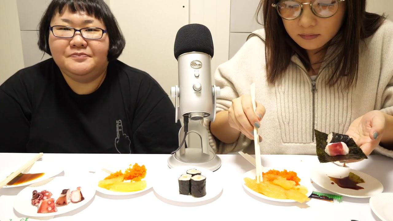 ASMR 海鮮 seafood 寿司 sushi
