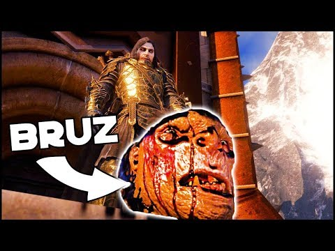 Shadow Of War - ONE MAN ARMY Fortress Siege! And Bruz Overlord (No Captains, Upgrades)