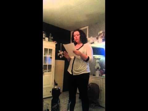 naomi zingt hallelujah * alleen oefen*