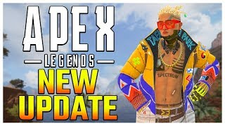 Apex Legends Update! Wraith Nerf + Crypto Buff + Gibraltar Buff + Custom Games (Grand Soiree Event)