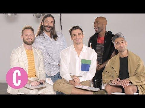 Queer Eye's 'Fab 5' Play the Superlative Game   Cosmopolitan