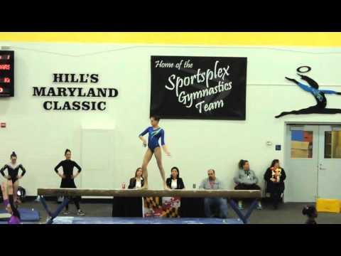 Emily Carey - Northeast Gymnastics Academy - Balance Beam - 2016 Hills Maryland Classic