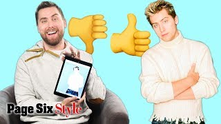 NSYNC's Lance Bass Reviews His Most Memorable Looks | Page Six Style
