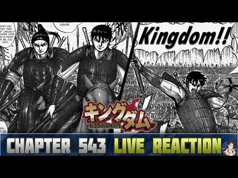 Kingdom キングダム Chapter 543 Manga LIVE REACTION - THE TRUE BATTLEGROUND!