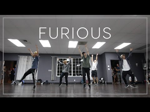 FURIOUS - Jeremy Riddle | V3 Dance - Eddie Moon