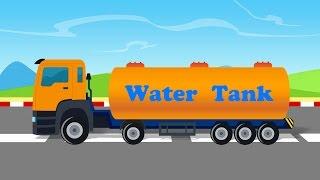 Wasser-Tanker | Nutzung Von Wasser-Tanker | Lastwagen | videos für Kinder |cartoon LKW