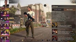 Tips for which heroes to use different activities, such as attacking, rallying, defense, gathering, influencer trap, infected horde. see www.gamesguidein...