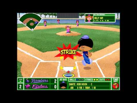 Backyard Baseball 1997 - Blue Bombers vs Fishes Gm 8