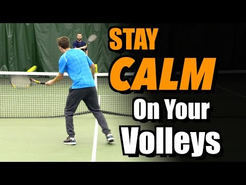Thumbnail: How To Stay Calm On Your Volleys