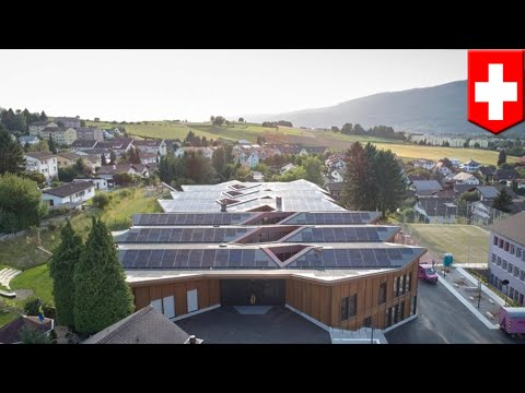 Solar-powered school has surplus energy to power 50 homes- T