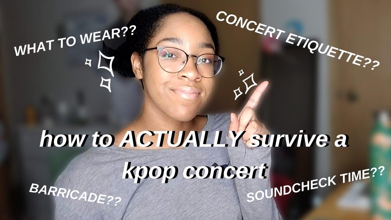 how to ACTUALLY survive a bts/kpop concert ? (nct tour 2020, bts tour 2020)