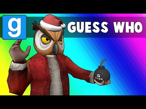 Thumbnail: Gmod Guess Who Funny Moments - Sit on Santa's Lap! (Garry's Mod)