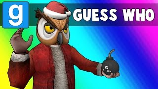 Gmod Guess Who Funny Moments - Sit on Santa